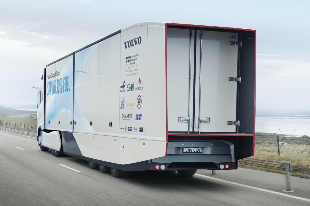 Volvo fabricará el camión que es capaz de conducir solo y de noche.