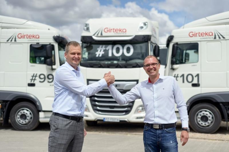 Girteka quiere contratar unos 750 conductores y llegar este año a los 20.000. Salario 68 € día